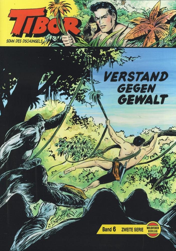 Tibor Gb 185 A Wildfeuer s//w Ausgabe
